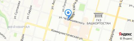 ГАРАНТ-Регион на карте Уфы