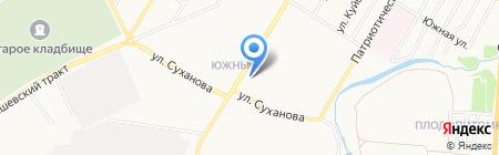 Усолье на карте Стерлитамака