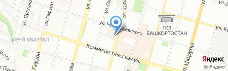 Альтима Строй на карте Уфы