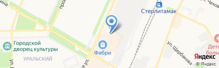 Стерлитамакский территориальный отдел госветнадзора на карте Стерлитамака