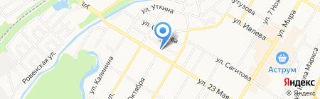 Автосфера на карте Стерлитамака