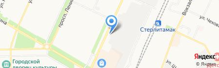 Стерлитамакский комбинат хлебопродуктов на карте Стерлитамака