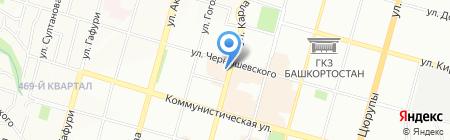 БПСК на карте Уфы