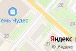 Схема проезда до компании МериБель в Перми