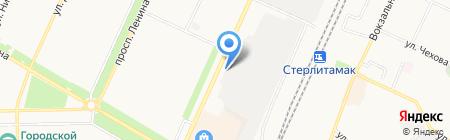 Агро-Сервис на карте Стерлитамака