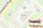 Схема проезда до компании Управление Федеральной службы государственной регистрации в Перми