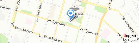 ПрофАрт на карте Уфы