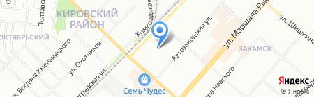 Центр диагностики и ремонта на карте Перми