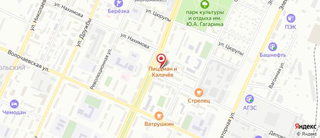 Карта расположения пункта доставки Стерлитамак Ленина в городе Стерлитамак