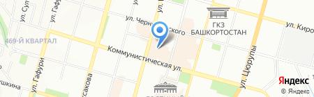 СПК на карте Уфы