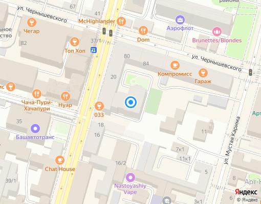 Товарищество собственников жилья «Александровский дом» на карте Уфы
