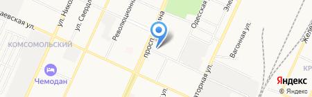 Мясной дворик на карте Стерлитамака