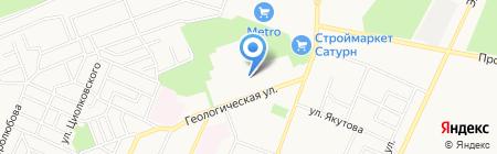 Адвокатский кабинет Жукова М.И. на карте Стерлитамака
