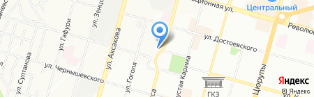 Лабресурс на карте Уфы