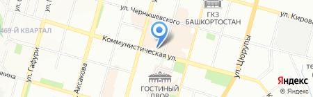 Детская музыкальная школа №7 на карте Уфы