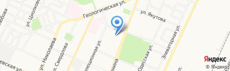 НЕБОСВОД на карте Стерлитамака