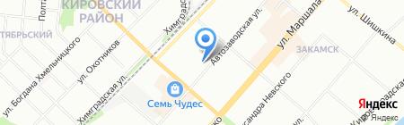 Детский сад №137 на карте Перми