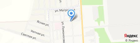 Компания по производству кондитерских изделий на карте Стерлитамака