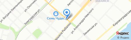 Ева на карте Перми