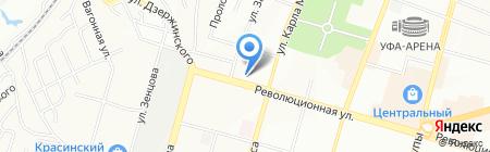 Банкомат Уральский банк Сбербанка России на карте Уфы