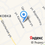 Розовая коза на карте Чесноковки