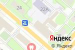 Схема проезда до компании Профстрой в Перми