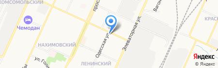 Единая дежурная диспетчерская служба Стерлитамакского района на карте Стерлитамака