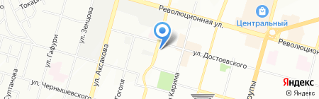 НИТЭК на карте Уфы