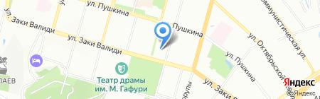 Орбита-Тур на карте Уфы
