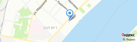 Александра на карте Перми
