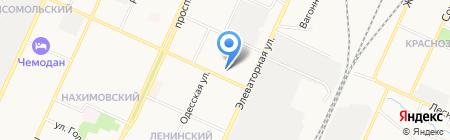 Профессиональный лицей №54 на карте Стерлитамака