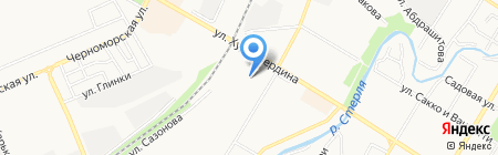 Всё по 37 рублей на карте Стерлитамака