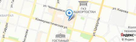 Ekudd на карте Уфы