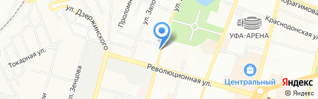 Дачник на карте Уфы