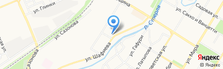 STR-Шар на карте Стерлитамака