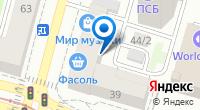 Компания Джао Дайфу на карте