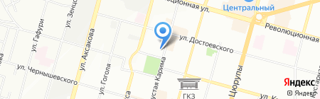 Ринта на карте Уфы