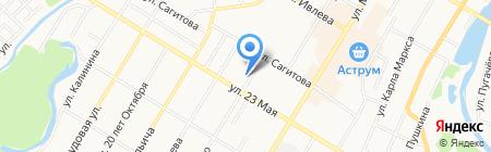 Пункт продажи и пополнения транспортных карт на карте Стерлитамака