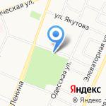 Парк культуры и отдыха им. Ю.А. Гагарина на карте Стерлитамака