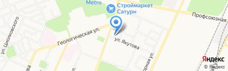 Почтовое отделение №107 на карте Стерлитамака