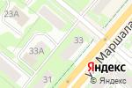 Схема проезда до компании Центр керамической плитки и керамогранита в Перми