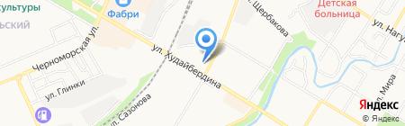 Архитектурно-планировочное бюро на карте Стерлитамака
