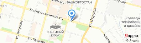 ДисТур на карте Уфы