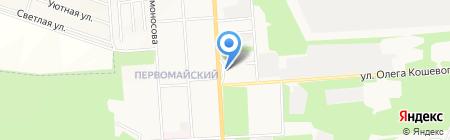 Каменка на карте Стерлитамака