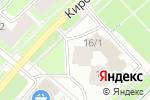Схема проезда до компании Эрудит в Перми