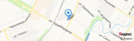 Стерлитамакский городской суд Республики Башкортостан на карте Стерлитамака