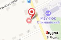 Схема проезда до компании Стряпунинская сельская врачебная амбулатория в Стряпунятах