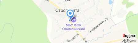 Стряпунинская сельская врачебная амбулатория на карте Стряпунят