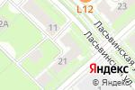 Схема проезда до компании Кафе встреч в Перми