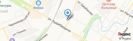 Стерлитамакский районный суд Республики Башкортостан на карте Стерлитамака